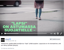 Yle Kioskin suojatievideossa elokuulta 2016 lisää sisältöä julkaistiin videon kommenteissa.